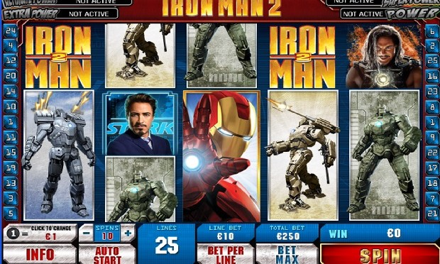 Ironman-2 slot