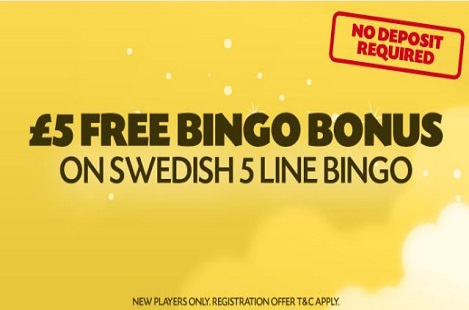 lucky pants play 5 line bingo online bingo sites reviews