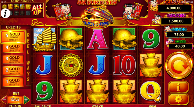 88 fortunes slots online bingo reviews