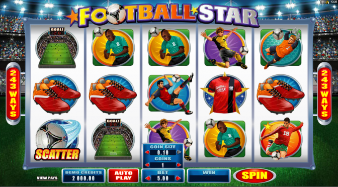 football star slots sport themed slots online bingo reviews