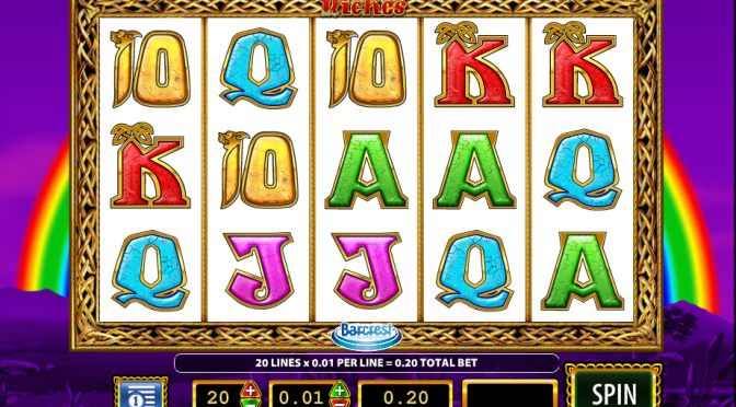 rainbow riches slots online bingo reviews